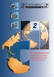 Attuatori rotanti - SGA-Automation