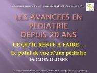 Présentation de Catherine Devoldère (pdf - 4 Mo) - Sparadrap