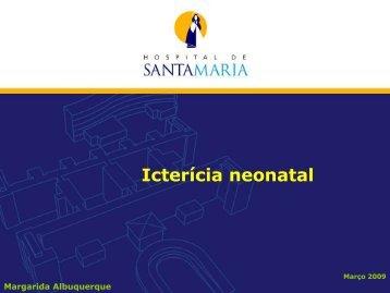 Icterícia neonatal - aefml