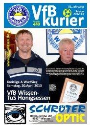 Ausgabe 449 - VfB Wissen 1914 eV
