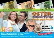 Jetzt zugreifen und mit den Familien- Oster-Schnäppchen* sparen: