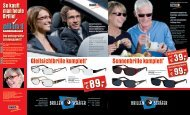 Sonnenbrille komplett* Gleitsichtbrille komplett* - Brillen Schäfer