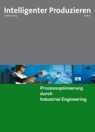 Intelligenter Produzieren - VDMA Verlag
