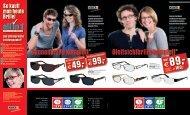 Gleitsichtbrille komplett* Sonnenbrille komplett* - Optik + Akustik + ...