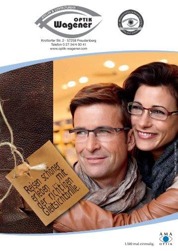 Reisen schöner erleben ... mit der richtigen Gleitsichtbrille.