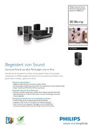 HTS9540/12 Philips 3D Home Entertainment-System ... - ComStern.at