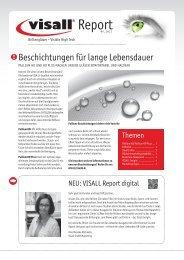 Beschichtungen für lange Lebensdauer - Visall GmbH
