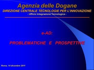 Progetto EMCS – FASE 3 - Assocostieri