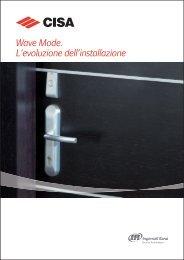 Wave Mode. L'evoluzione dell'installazione - Cisa - Ingersoll Rand