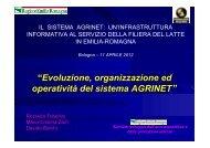 """""""Evoluzione, organizzazione ed operatività del ... - Ermes Agricoltura"""