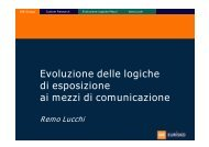 Evoluzione delle logiche di esposizione ai mezzi di ... - MediaMeter