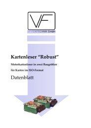 Datenblatt Robust (PDF) - bei der VF Feintechnik GmbH