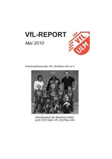 Mai 2010 - (VfL) Ulm/Neu-Ulm eV