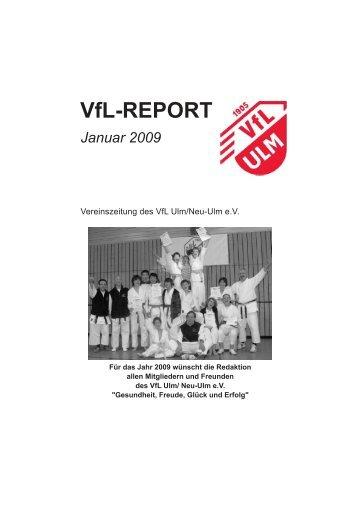 Januar 2009 - (VfL) Ulm/Neu-Ulm eV
