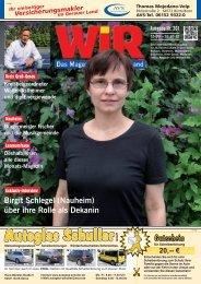 WIR-Magazin 201 - Das WIR-Magazin im Gerauer Land