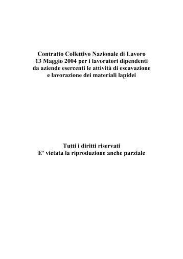 CCNL Lapidei - filca