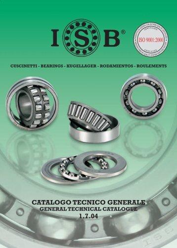 CATALOGO TECNICO GENERALE 1.7.04 - Rodalsa