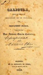 ALEJANDRO BUMAS. - Bicentenario Antonio Garcia Gutierrez