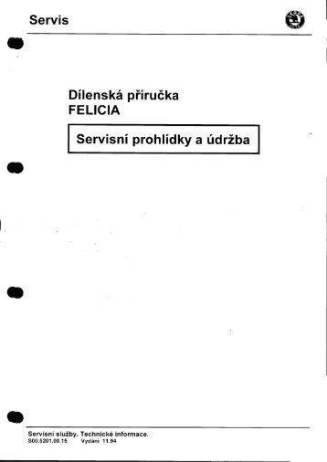 Servis (!) Dílenská příručka