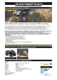 Can-Am (BRP) Outlander 800R Xmr EFI Mud Racing - Black Forest ...