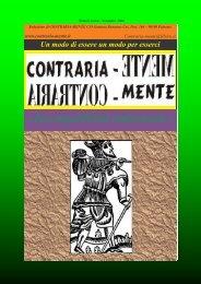 INCOMPATIBILITÀ AMBIENTALE - Contraria-Mente