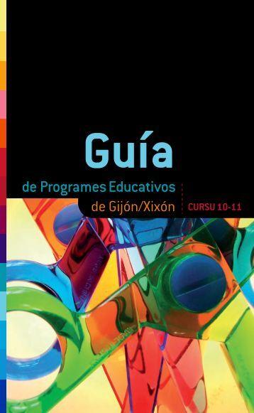 Guía de Programes Educativos del Xixón cursu 2010 - Gijón
