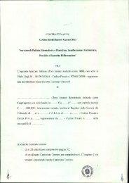 Schema di contratto - Asi