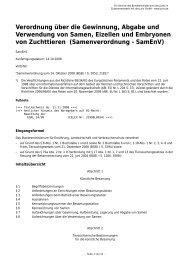 Samenverordnung - SamEnV - Gesetze im Internet