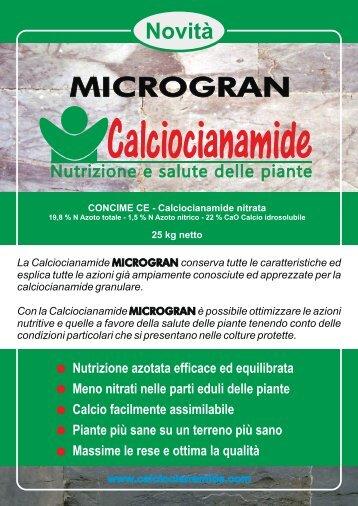Calciocianamide - Agricola Internazionale