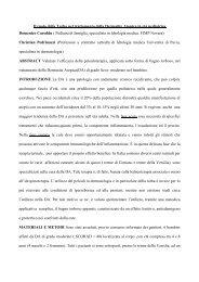 Il ruolo della Torba nel trattamento della Dermatite Atopica in ... - Fimp