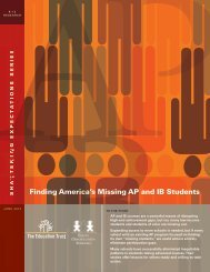 Finding America's Missing AP and IB Students