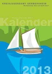 Ferienkalender 2013 - Landkreis Germersheim