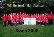 Fotobuch Essen - VfL Herford