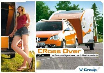Une Caravane légère avec une Utilisation variable - V-Group