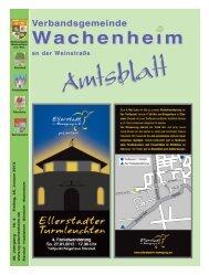 Amtsblatt vom 25.01.2013 - Verbandsgemeinde Wachenheim