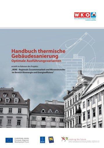 Handbuch thermische Gebäudesanierung AT - Landesinnung Bau
