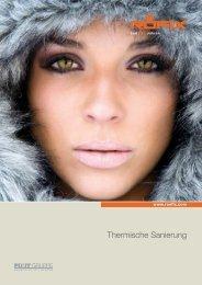Thermische Sanierung - Röfix