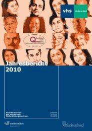 Jahresbericht 2010 - Stadt Lüdenscheid