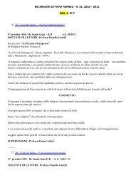 "2D – Gaia De Santis – ""La Piccola Principessa"" - Istituto ..."