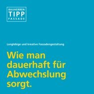Bauherren Tipp - Fassadengestaltung - Sto AG