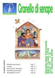 Anno 2008, numero 7 - Parrocchia Santo Curato d'Ars
