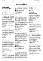 Berufliche Bildung Kompetenz - Volkshochschule Augsburg