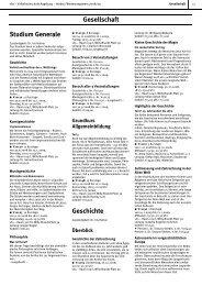 Studium Generale - Volkshochschule Augsburg