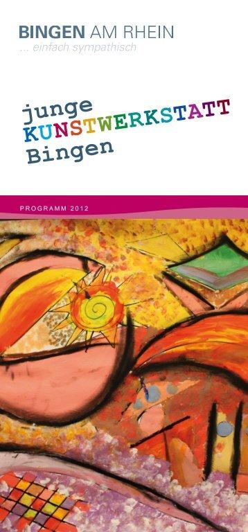 junge KunstwerKstatt Bingen - VHS Bingen