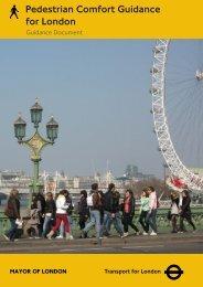 Pedestrian Comfort Guidance for London