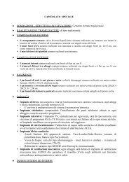 FONDAZIONI – STRUTTURA IN ELEVAZIONE: Cemento Armato ...