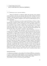 1 l'industria italiana. dalla grande alla piccola impresa - Cresa