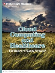 Cloud Computing and Healthcare: Bad Weather or Sunny ... - himss