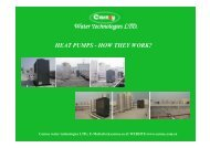 Water Technologies LTD. HEAT PUMPS - carnoy.co.il