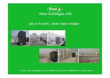 Water Technologies LTD. HEAT PUMPS - carnoy.co.il